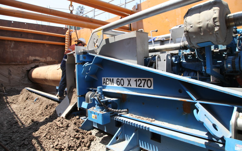 Auger Boring